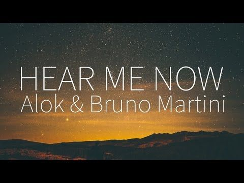 Alok Bruno Martini Feat Zeeba Hear Me Now Lyrics Goruntuler