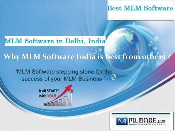 MLM Software stand for Multi Level Marketing Software. It give unique business strategies with new ideas that can help to give new direction to your business.