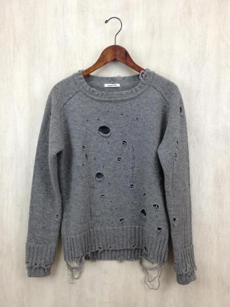 damaged knit jumper • fumika uchida