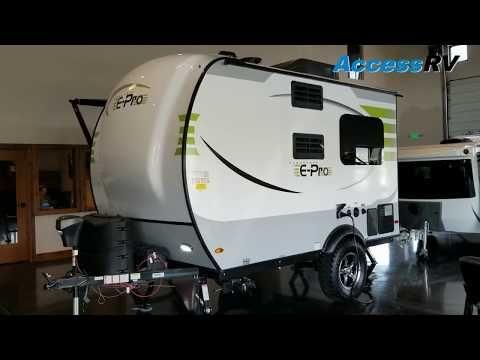 2019 Flagstaff E Pro 14fk Walkthrough Youtube Travel Trailer