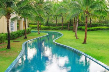 Inground Pool Designs   The Search For The Perfect Idea | Lazy, Rivers And  Garden