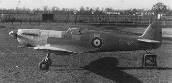 "The Spitfire K5054, designed by J. Mitchel, took it's maiden flight from Eastleigh Aerodrome 1936. A glorious machine. ""Once you've flown a Spitfire it spoils you for all other fighters"" Lt W. Dunn"
