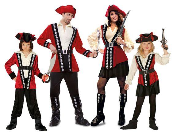 Grupo Piratas Calavera #disfraces #carnaval #disfracesparagrupos