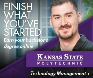 K-State's Technology Management online bachelor's degree is all about achieving your career dreams while making the process easy and flexible. Students transfer credits completed in a specialized focus and connect that education with business and management principles. Accredited by the Higher Learning Commission, this hybrid program bridges together your passion with essential proficiencies, like finance, communications, and marketing, necessary to lead a team and excel within an…