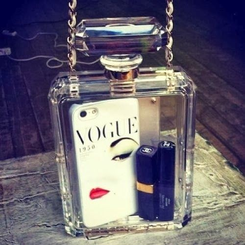 st laurent duffle bag - How to Chic: DIY PERFUME CLUTCH CHANEL | HOW TO CHIC | Pinterest ...