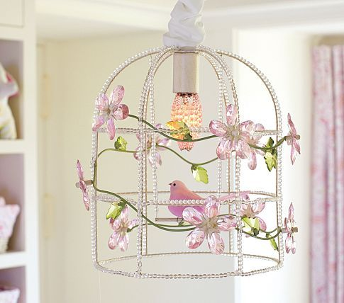 Diy Kids Chandelier – Chandeliers Design:Pink Birdcage Chandelier Pottery Barn Kids I See A Diy In The,Lighting