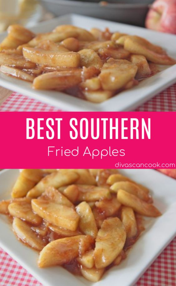 Best Southern Fried Apples