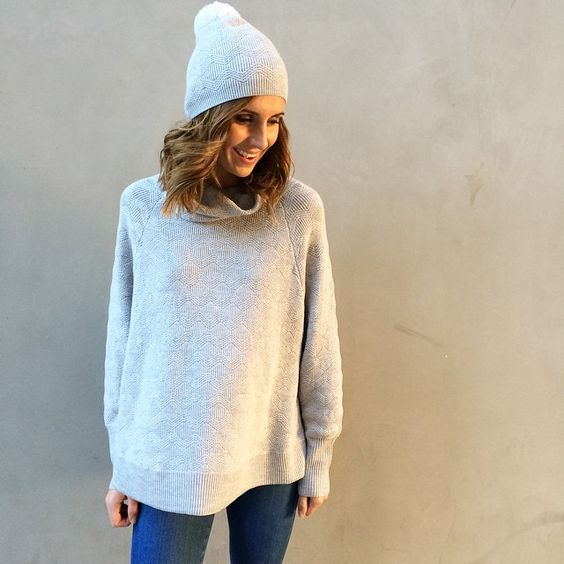 Oh so cozy this weekend with #ellasanders || now in store and open until 7pm