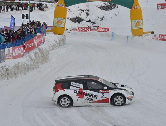 Trophée Andros, Franck Lagorce gagne la course 2 de Val Thorens