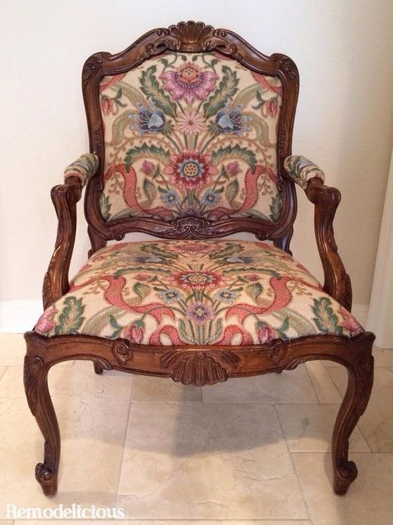 Diy Queen Anne Chair Make Over Remodelicious Remodelicious Pinterest Queen Anne Chairs