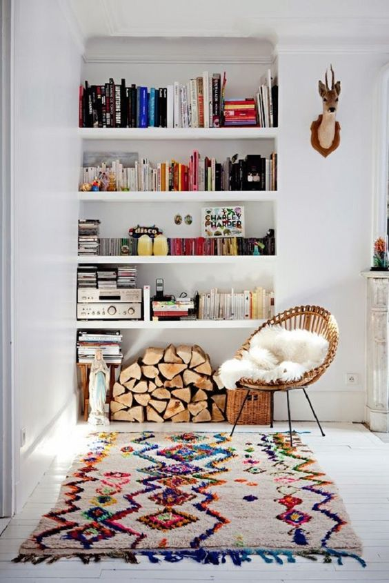 Interior //  Frühlingsboten:Rattan Lounge Chairs | Jane Wayne News