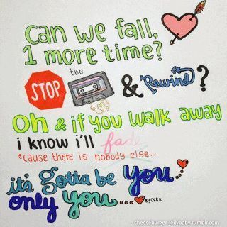 Gotta be you-One Direction