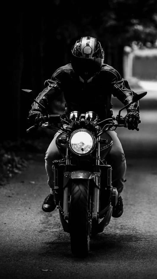 Pin By Alison Johnson On Black And White Motorcycle Wallpaper