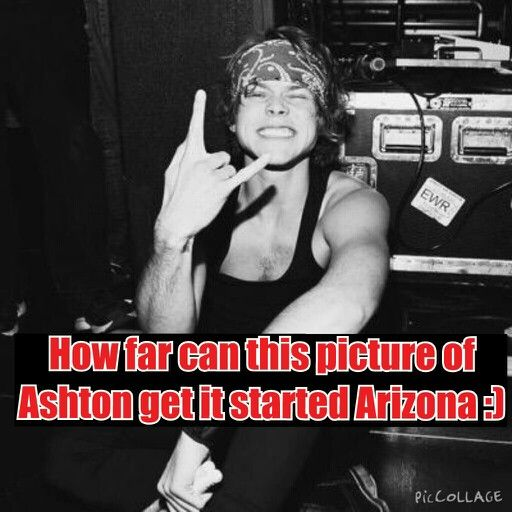 How far can this picture of Ashton go it started in Arizona lets try to make him go worldwide lol xD
