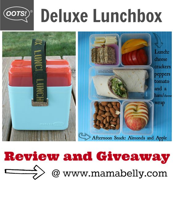 Win an OOTS! lunchbox from www.mamabelly.com for #backtoschool! #mamabelly #bts #lunchbox #giveaway