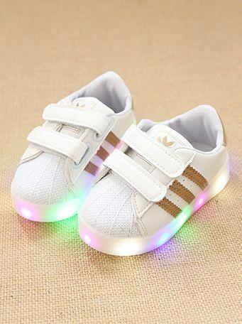 adidas chaussure led en 2020 | Baskets lumineuses, Chaussures de ...