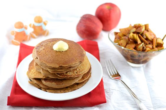 Gingerbread Pancakes (Gluten Free) | Recipe | Gingerbread Pancakes ...