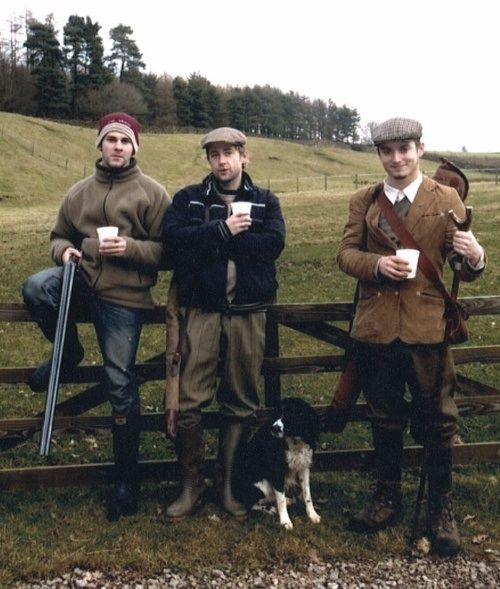 Hobbits and a border collie