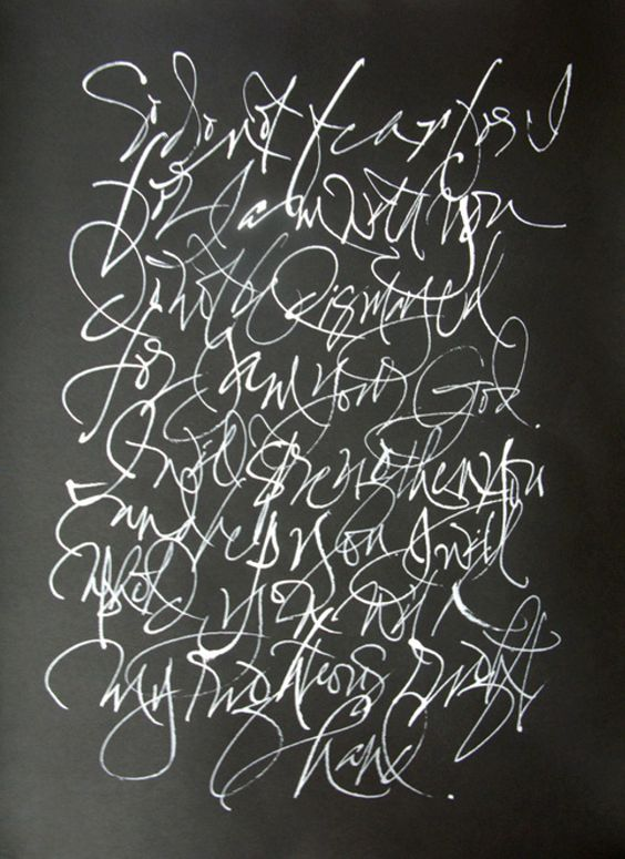 David Chang Do Not Fear And Calligraphy On Pinterest