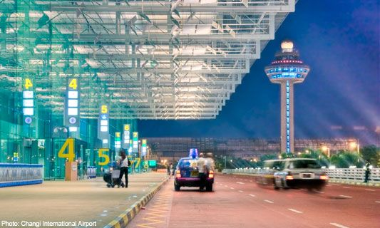 Different look of Changi Airport