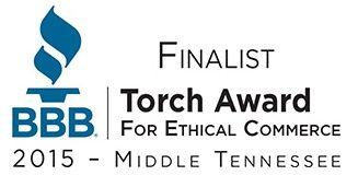 Better Business Bureau Torch Award Finalist