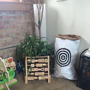 Personalised paper storage bags prints and wall por MoNatAndBag
