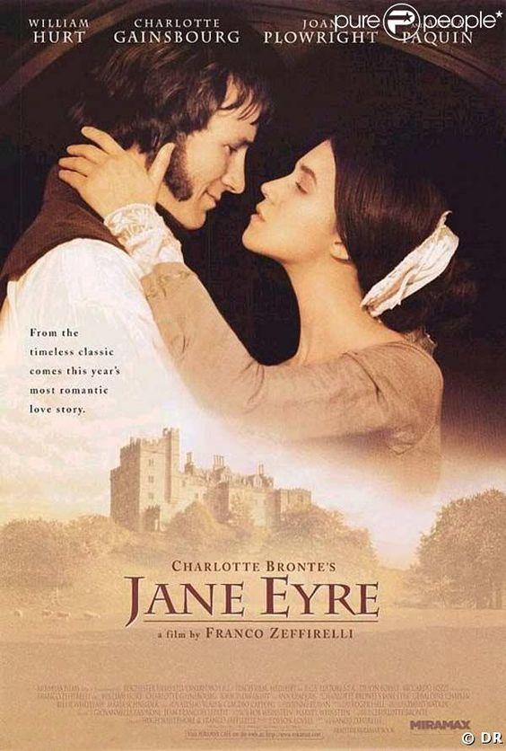Charlotte Gainsbourg était Jane Eyre, en 1996
