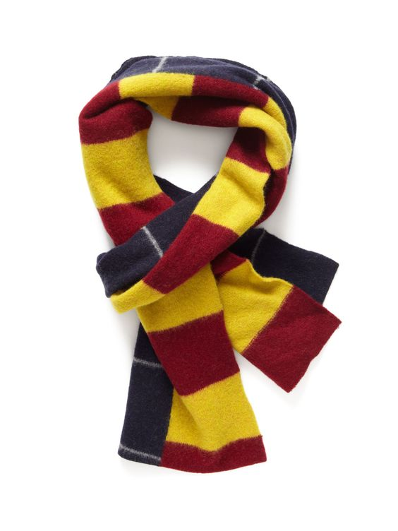 Rugby Stripe Scarf by Brooks Brothers on Park & Bond