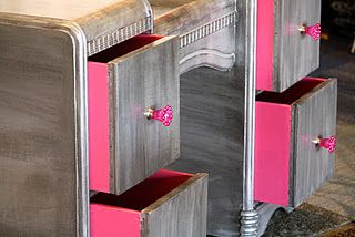 Pink-A-Boo drawers.