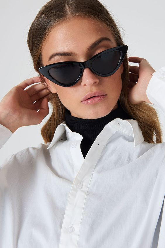 Óculos Gatinho Dramático (foto: Pinterest/Reprodução)