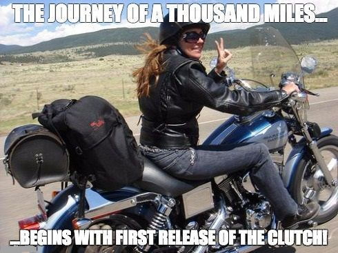 Best Harley Riding Memes Let S See Em Page 9 Harley Davidson Forums Female Motorcycle Riders Motorcycle Women Lady Riders