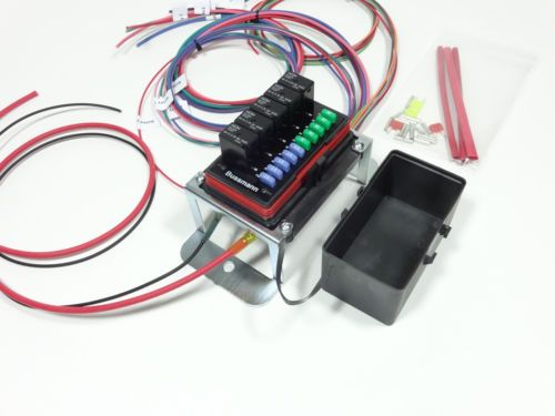universal auxiliary off road fuse and relay center jeep Ford Fuses and Relays Car Fuse Box Fuses