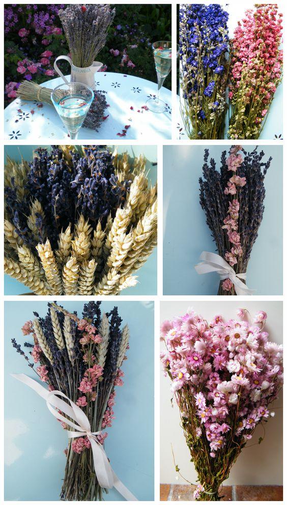 alternative bridal bouquet / Dried Flower Bouquets ...