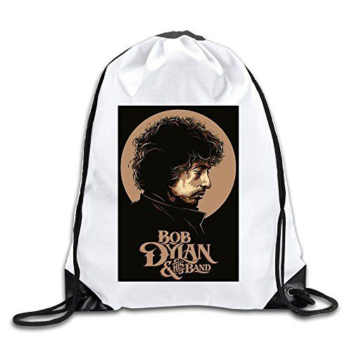 AGOGO Bob Dylan Poster Drawstring Backpack Bag * Learn more by