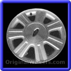 Ford Taurus 2003 Wheels & Rims Hollander #3506  #FordTaurus #Ford #Taurus #2003 #Wheels #Rims #Stock #Factory #Original #OEM #OE #Steel #Alloy #Used