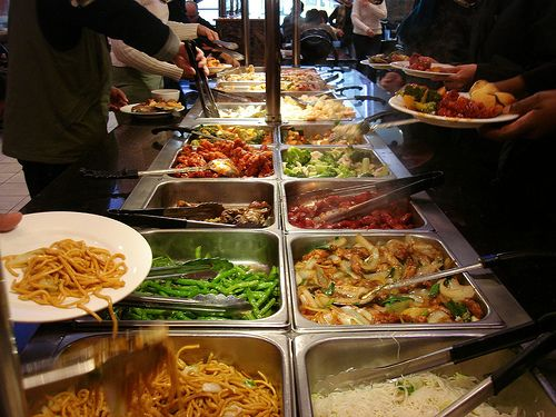 Chinese Restaurant Buffets Ah The Shoving Just To Get A Chicken Wing Chinese Food Buffet Food Chinese Buffet