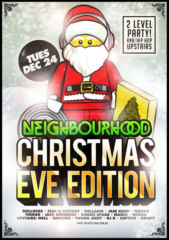 Neighbourhood, Apple #adelaide #nightlife #christmas #xmas #christmaseve #neighbourhood #neighbourhoodapple #applebar #placetobe