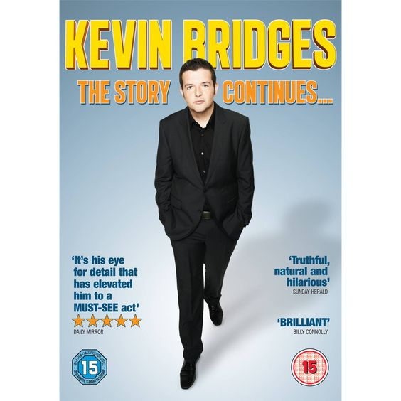 Idea for Darren: Play.com - Buy Kevin Bridges: The Story Continues... online at Play.com and read reviews. Free delivery to UK and Europe!