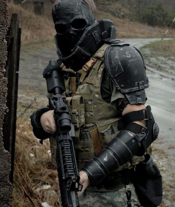 Apocalyptic Soldier Pics: Tactical Gear/Survivor Gear
