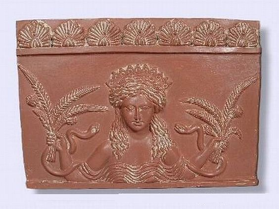 Goddess Ceres Plaque
