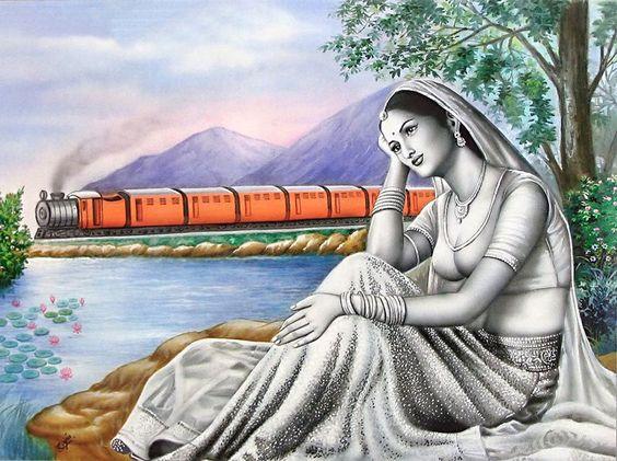India................http://www.pinterest.com/tinavanfenn3/indian-art-paintings-indien/