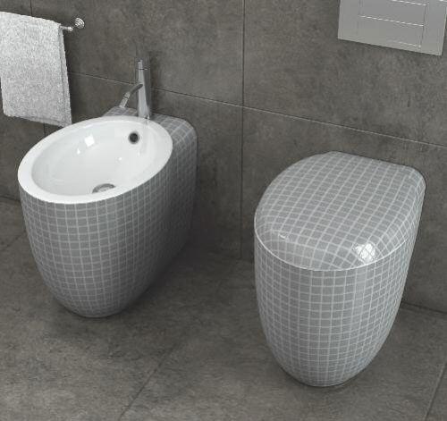 Ideen Für Toilettendesign Stilvolles Badezimmer Grau   Toilets ... Ideen Fur Wc Design