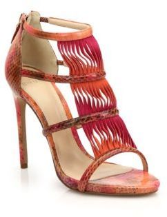 Alexandre Birman Wavy Suede & Watersnake Sandals http://www.shopstyle.com/action/loadRetailerProductPage?id=469108736&pid=uid1209-1151453-20