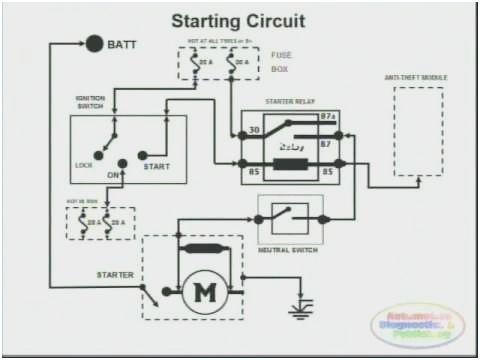 Kubota Starter Wiring Diagram