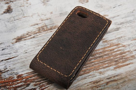 leather iphone case menleather iphone 5s por JaklinDifferent