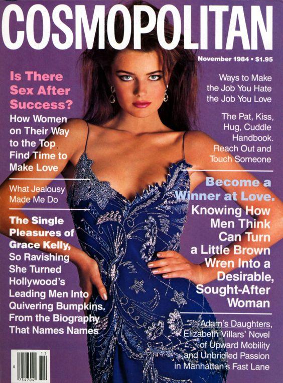 Cosmopolitan magazine, NOVEMBER 1984 Model: Paulina  Porizkova  Photographer: Francesco Scavullo