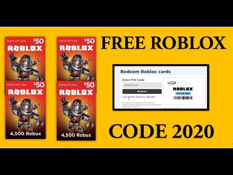 Roblox Gift Card Codes Generator Free 10k Robux Game Code Working 2020