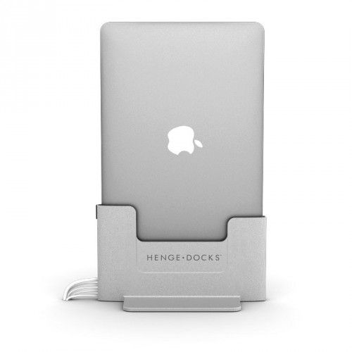 "HengeDocks Vertical Docking Station for the 15"" MacBook Pro Retina - Brushed Metal, 15-HDK-RET-AL"