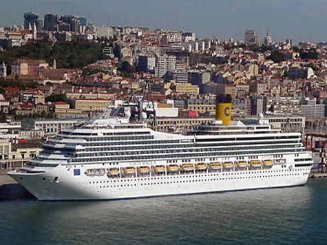 Lisboa acolhe hoje 18 mil turistas de 6 cruzeiros, espera-se uma receita de 1 M€