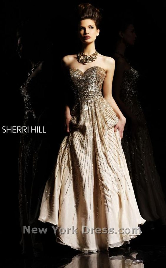 Sherri Hill 8437 thumbnail, newyorkdress.com    $470dlls